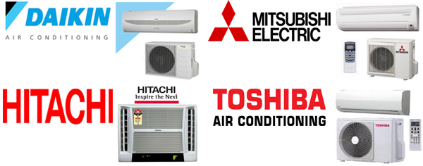 Air Conditioning Top Brands AMV Systems