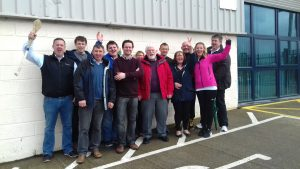 AMV Systems Staff stride it out for Wellness at work day 31st March 2017