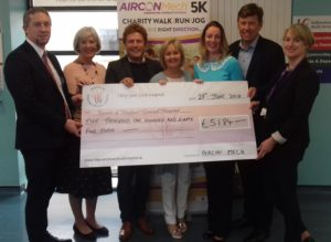 Cheque Handover to Friends of Wexford General Hospital