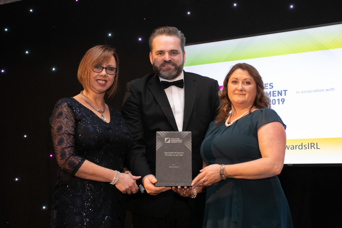 Deirdre Keogh, AirconMech; Mark Keely Karcher Ireladn and Caroline Buckley, AirconMech