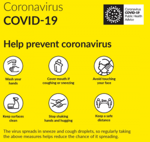 HSE Advice on reducing spread of Coronavirus- Covid-19